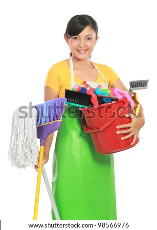 Cleaner Cute Maid Stock Photos Images Pictures