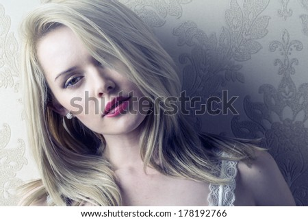 Portrait of Beautiful Female