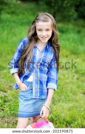 Portrait Beauty Preteen Tween Kid Girl Foto de stock (editar ahora ...
