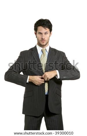portrait of businessman