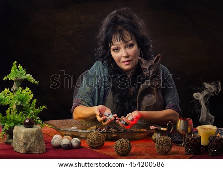 image Mature fortuneteller predicts a good fucking