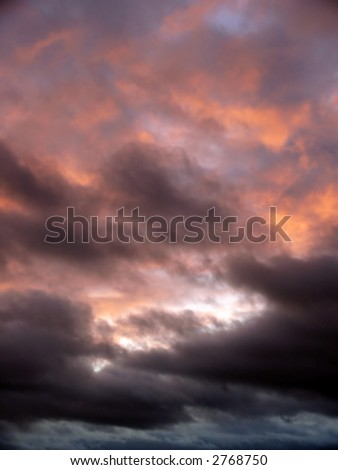 portrait of gothic sky