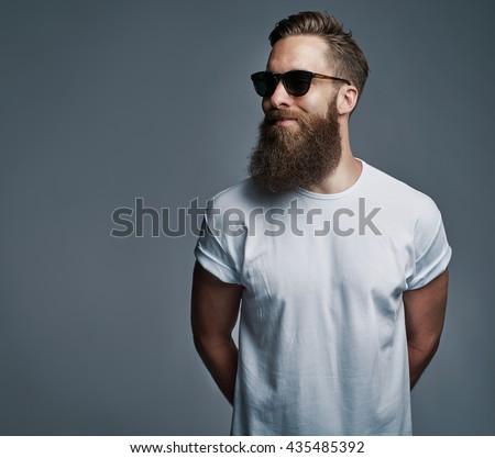 Miraculous Beard Stock Photos Royalty Free Images Amp Vectors Shutterstock Short Hairstyles Gunalazisus
