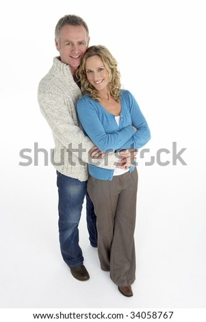 Portrait Of Middle Aged Couple - stock photo