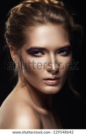 portrait of sensual woman