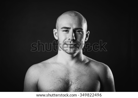 Marvelous Bald Man Stock Images Royalty Free Images Vectors Shutterstock Hairstyle Inspiration Daily Dogsangcom