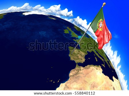 Portugal Map Stock Images RoyaltyFree Images Vectors