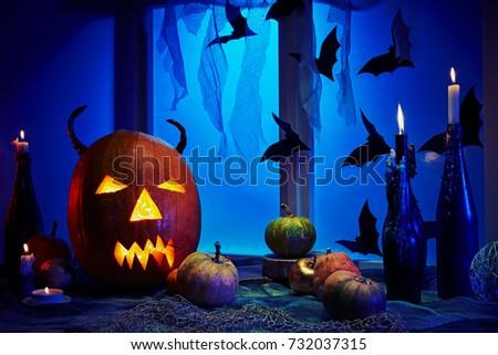 Postcards Halloween Backgrounds Desktop Wallpapers Stock Photo ...