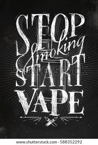 Poster vaporizer vintage lettering stop smoking stock - Stop wishing start doing hd wallpaper ...