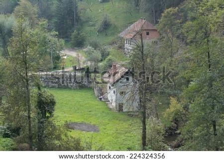 Postojna valley, Slovenia - stock photo