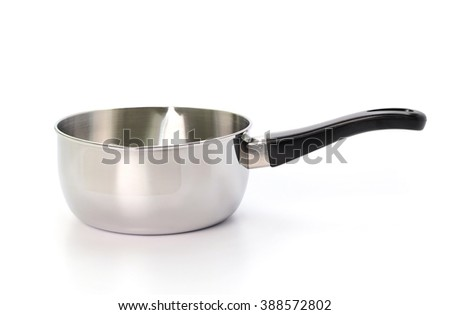 pot cook isolated on white background - stock photo