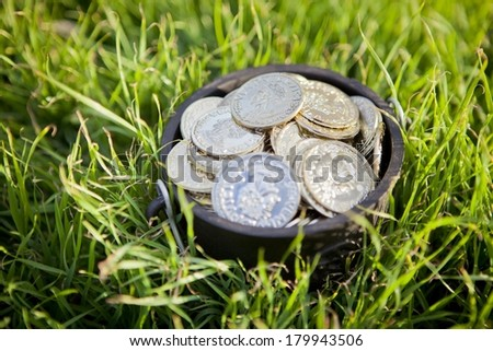 Pot of Gold - stock photo