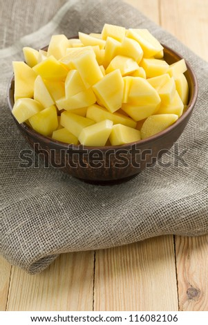 Potato - stock photo