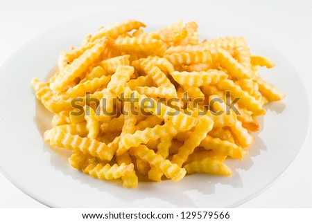 Potato fries - stock photo