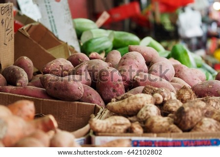 Potatoes, Chinese market, NYC