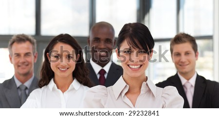 Potrait of an attractive and Confident Young Business woman