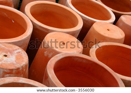 Pots - stock photo
