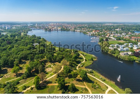 Potsdam and its surroundings. The historic center of Potsdam, Brandenburg, Germany
