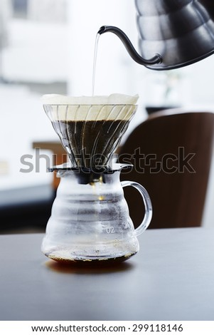 Pouring Hot Water Into Coffee Maker : Percolator Stock Photos, Images, & Pictures Shutterstock