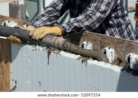 Foam concrete stock images royalty free images vectors for Foam concrete construction