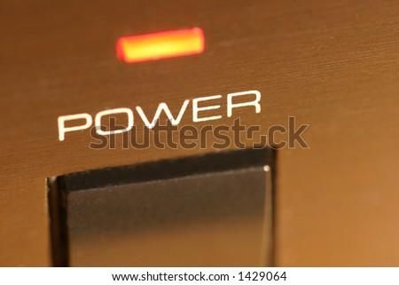 power - stock photo