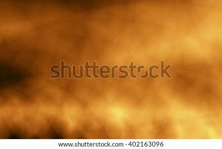 Power burst abstract golden elegant wallpaper - stock photo