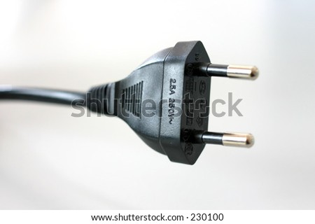 Power cable isolated