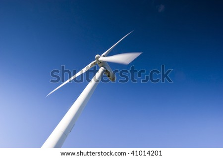 Power generation wind farm 35m in height to the hub and have a rotor diameter of 37m