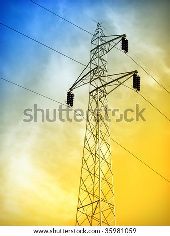 Power line construction