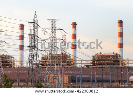 Power plant,Energy power station