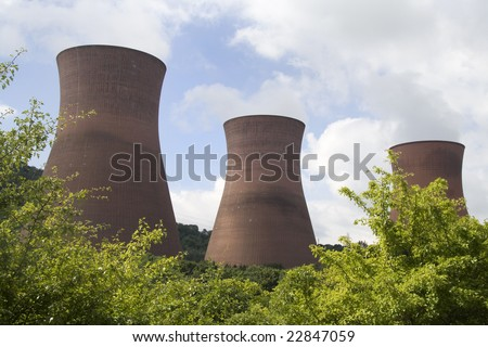 Power station - stock photo