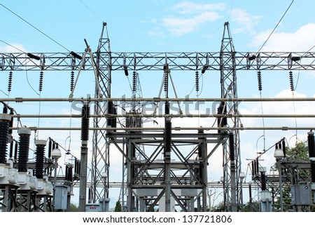 Power station for electrical Industry