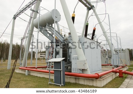 Power station for Industry - stock photo