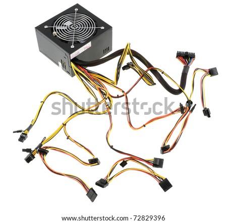 Power supply unit - stock photo