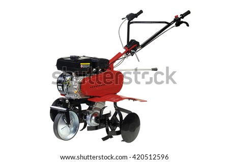 power tiller  - stock photo