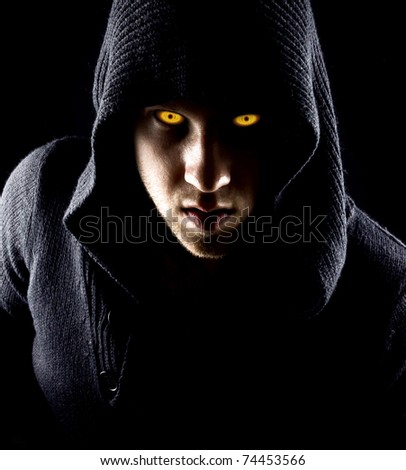 powerful man - stock photo