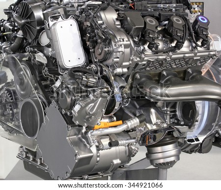 powerful v6 car hybrid engine new technology