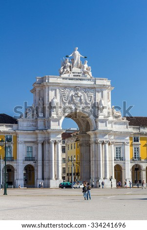 Praca Do Comercio is located in the city of Lisbon, Portugal.