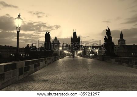 Prague - stock photo