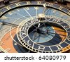 Prague Astronomical Clock, Czech Republic - stock photo