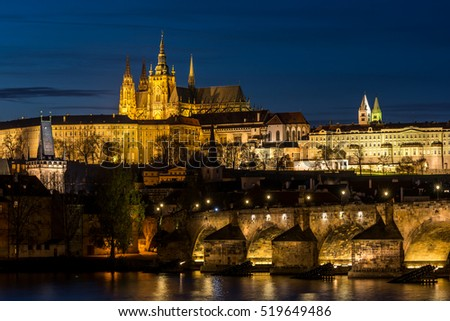 Prague castle, Hradcany, Czech republic