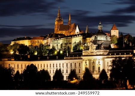 Prague in Czech Republic.  - stock photo
