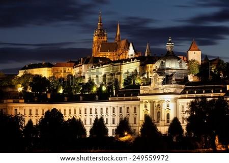 Prague in Czech Republic.  - stock photo