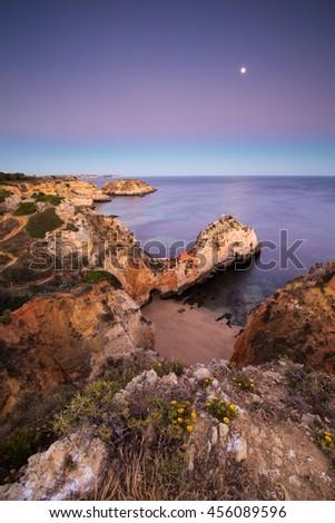 Praia do Submarino, Portugal - stock photo