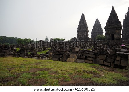 prambanan temple in Indonesia very nice