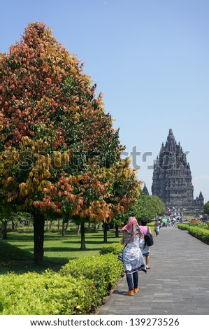 Prambanan temple, Java, Indonesia - stock photo