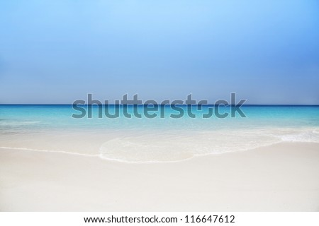Praslin island, Seyshelles, Anse Lazio. The island of dreams for a rest and relaxation. - stock photo