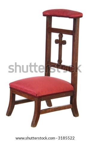 Prayer chair - stock photo