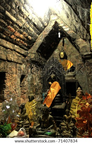 Praying time - stock photo