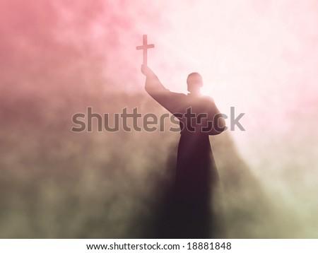 preacher - stock photo